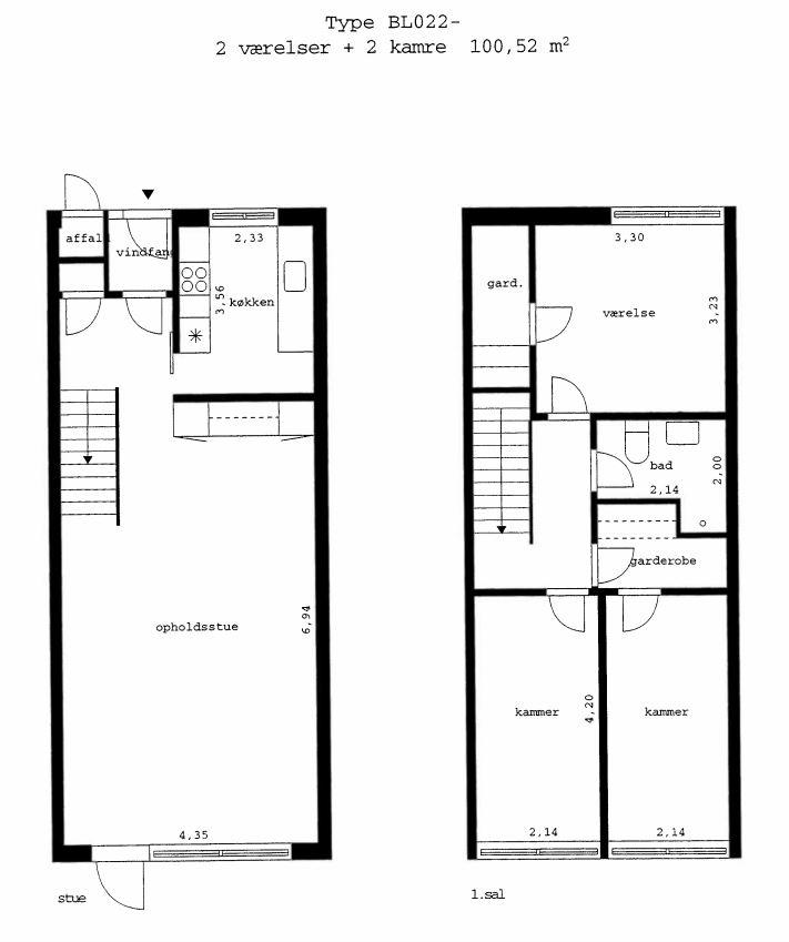 Byttebolig – 4-vær. enderækkehus i Ballerup